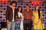 Harshad Chopra, Neha Janpandit, Ekta Kapoor at the launch of new serial on Star Plus Tere Liye in J W Marriott on 1st June 2010 (7).JPG