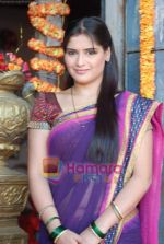 Aarti Singh at the launch of Thoda Hai Bas Thode Ki Zaroorat Hai show on Colors in Kamalistan on 2nd June 2010 (12).JPG