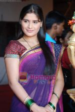 Aarti Singh at the launch of Thoda Hai Bas Thode Ki Zaroorat Hai show on Colors in Kamalistan on 2nd June 2010 (21).JPG