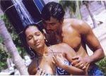 Meghna Naidu & shawar ali  in the still from movie Love & Sex.jpg