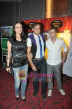 Yash and Gauri Tonk at Gold Awards Announcement in Holiday Inn, Mumbai on 5th June 2010 (2).JPG