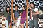 Bani, Rannvijay Singh, Jacqueline Fernandez, Ayushmann Khurrana at the launch of MTV Wildcraft - range of bags and adventure gear in Bandra on 21st July 2010 (7).JPG