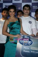 Jacqueline Fernandez at Gillette Mach3 India Gaming Championship 2010 in Vadala on 29th July 2010 (2).JPG