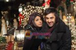 Priyanka Chopra, Ranbir Kapoor in the still from movie Anjaana Anjaani (8).JPG