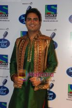Rakesh on the sets of Indian Idol in Filmistan on 14th Aug 2010 (18).JPG