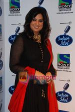 Richa Sharma on the sets of Indian Idol in Filmistan on 14th Aug 2010 (9).JPG