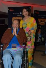 Shammi Kapoor, Sharmilla Tagore at One Evening in PARIS screening for Radio Mirchi_s Purani Jeans in PVR on 21st Aug 2010 (29).JPG
