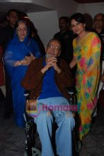 Shammi Kapoor, Sharmilla Tagore at One Evening in PARIS screening for Radio Mirchi_s Purani Jeans in PVR on 21st Aug 2010 (13).JPG