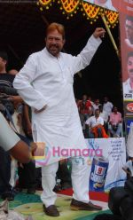 Rajesh Khanna at Ram Kadam_s dahi handi in Thane, Mumbai on 2nd Sept 2010 (4).JPG
