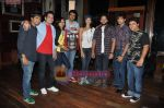 Teejay Sidhu, Manoj Bohra, Pooja Batra at the launch of Rio Band_s Raaste Album in Hard Rock Cafe, Mumbai on 7th Sept 2010 (18).JPG