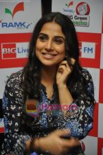 Vidya Balan launches Big FM Green Ganesha drive in Cafe Balisico on 7th Sept 2010 (24).JPG