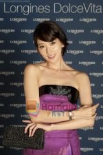 Chi Ling Lin at the Launch of the new additions to the Longines DolceVita collection in Rome on 9th Sept 2010 (4).jpg
