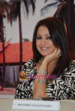 Mahima Chaudhary at Country Club Pan India spa launch in Andheri on 14th Sep 2010 (24).JPG