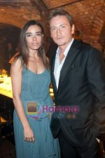 Benoit Magimel and Elodie Bouchez at Moet Chandon event.JPG