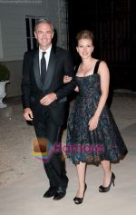 Scarlett Johansson and House CEO and President at Moet Chandon event.JPG