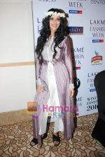Nandana Sen walks the ramp for Digvijay Singh Show at Lakme Winter fashion week day 1 on 17th Sept 2010 (20).JPG