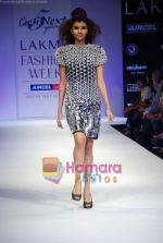 Model walks the ramp for Gen Next Show at Lakme Winter fashion week day 2 on 18th Sept 2010 (58).JPG