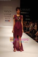 Model walks the ramp for Sailex NG Show at Lakme Winter fashion week day 2 on 18th Sept 2010 (65).JPG