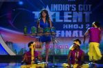 Priyanka Chopra on the sets of India_s Got Talent  in Film City on 18th Sept 2010 (10).JPG