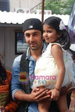 Ranbir Kapoor on the sets of India_s Got Talent  in Film City on 18th Sept 2010 (6).JPG