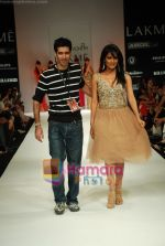 Chitrangada Singh walks the ramp for Arpan Vohra Show at Lakme Winter fashion week day 3 on 19th Sept 2010 (25).JPG