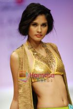 Model walks the ramp for Anupamaa Show at Lakme Winter fashion week day 3 on 19th Sept 2010 (19).JPG