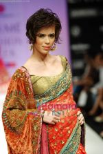 Model walks the ramp for Anupamaa Show at Lakme Winter fashion week day 3 on 19th Sept 2010 (80).JPG