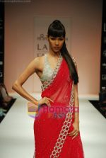 Model walks the ramp for Arpan Vohra Show at Lakme Winter fashion week day 3 on 19th Sept 2010 (102).JPG
