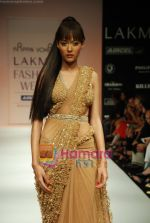 Model walks the ramp for Arpan Vohra Show at Lakme Winter fashion week day 3 on 19th Sept 2010 (123).JPG
