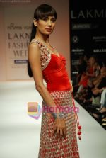 Model walks the ramp for Arpan Vohra Show at Lakme Winter fashion week day 3 on 19th Sept 2010 (136).JPG