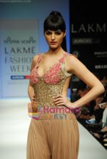 Model walks the ramp for Arpan Vohra Show at Lakme Winter fashion week day 3 on 19th Sept 2010 (45).JPG