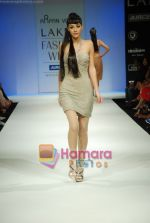 Model walks the ramp for Arpan Vohra Show at Lakme Winter fashion week day 3 on 19th Sept 2010 (49).JPG