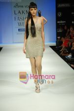 Model walks the ramp for Arpan Vohra Show at Lakme Winter fashion week day 3 on 19th Sept 2010 (50).JPG
