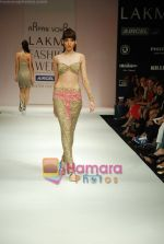 Model walks the ramp for Arpan Vohra Show at Lakme Winter fashion week day 3 on 19th Sept 2010 (56).JPG