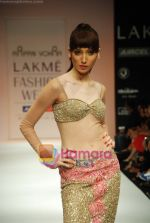 Model walks the ramp for Arpan Vohra Show at Lakme Winter fashion week day 3 on 19th Sept 2010 (65).JPG