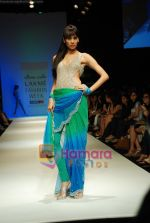Model walks the ramp for Arpan Vohra Show at Lakme Winter fashion week day 3 on 19th Sept 2010.JPG
