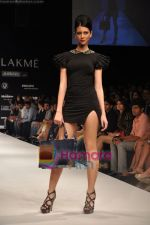Model walks the ramp for Rajat Tangri Show at Lakme Winter fashion week day 3 on 19th Sept 2010 (42).JPG
