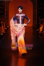 Model walks the ramp for Satya Paul Show at Lakme Winter fashion week day 3 on 19th Sept 2010.JPG