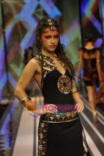 Model walks the ramp for Malini Ramani Show at Lakme Winter fashion week day 5 on 21st Sept 2010 (49).JPG