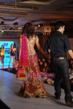 Priyanka Chopra walks the ramp for DHL Anjaana Anjaani show by Manish Malhotra in J W Marriott on 21st Sept 2010 (46).JPG