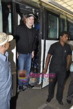 John Travolta left India and went to Moscow in Mumbai International Airport on 28th Sept 2010 (11).JPG