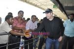 John Travolta left India and went to Moscow in Mumbai International Airport on 28th Sept 2010 (19).JPG