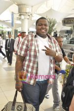Sean Kingston come to India for a live gig at Hard Rock Cafe and record a song with Indian music director Aadesh Shrivastava on 28th Sept 2010 (2).JPG