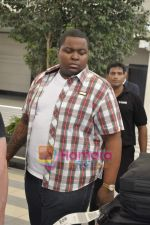 Sean Kingston come to India for a live gig at Hard Rock Cafe and record a song with Indian music director Aadesh Shrivastava on 28th Sept 2010 (50).JPG