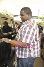 Sean Kingston come to India for a live gig at Hard Rock Cafe and record a song with Indian music director Aadesh Shrivastava on 28th Sept 2010 (31).JPG