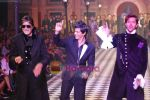Amitabh Bachchan, Shahrukh Khan, Hrithik Roshan walks the ramp for Karan Johar and Varun Bahl_s show on Day 2 of HDIL on 7th Oct 2010 (10).JPG