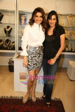 Queenie Dhody, Mana Shetty at Araish jewellery exhibition in Blue Sea on 12th Oct 2010 (3).JPG
