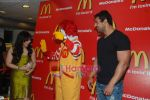 John Abraham and Pakhi at McDonalds to promote Jhootha Hi Sahi in Fun Republic on 14th Oct 2010 (4).JPG