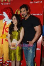 John Abraham and Pakhi at McDonalds to promote Jhootha Hi Sahi in Fun Republic on 14th Oct 2010 (48).JPG