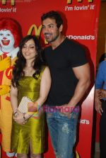 John Abraham and Pakhi at McDonalds to promote Jhootha Hi Sahi in Fun Republic on 14th Oct 2010 (53).JPG